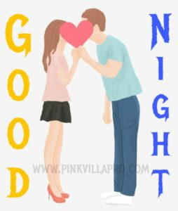 Good Night Romantic images for lover in hindi
