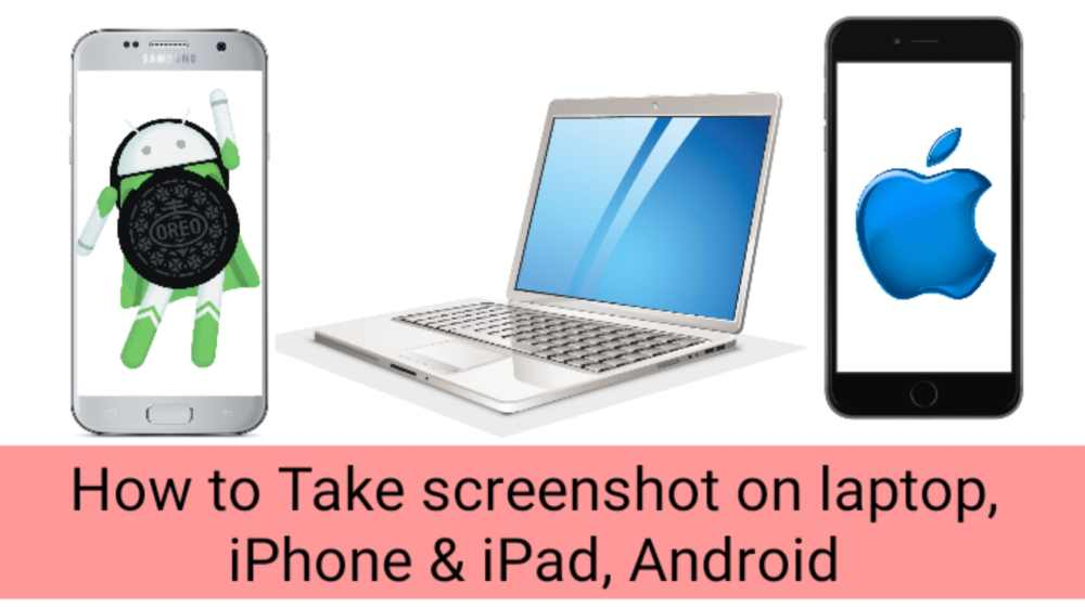 How to Take screenshot on laptop, iPhone & iPad,