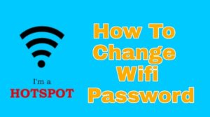 How to change wifi password in mobile