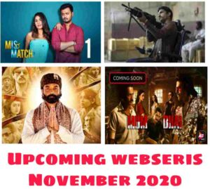 Upcoming web series in 2021