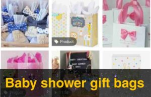 Baby shower gift bags Idea 2021