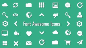 Font awesome 4.7 Awesome icons free Download