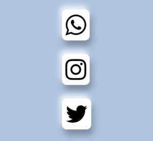 Social Icon Shadow Effect in Css & Html