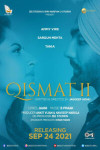 Qismat 2 Movie (2021) Cast and Crew, Wiki, Review, Release Date, Trailer, Budget, Real Name, Watch Online OTT