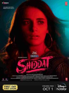Shiddat Movie Cast and Crew, Wiki, Review, Release Date, Trailer, Budget, Real Name, Watch Online OTT